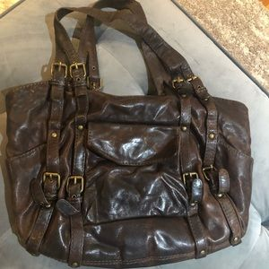 KOOBA brown leather handbag